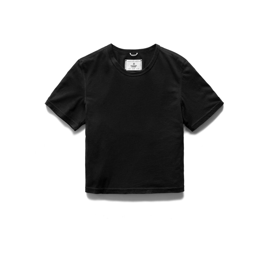 KNIT BOX FIT T-SHIRT