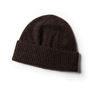 The Beanie in Chocolate Yak