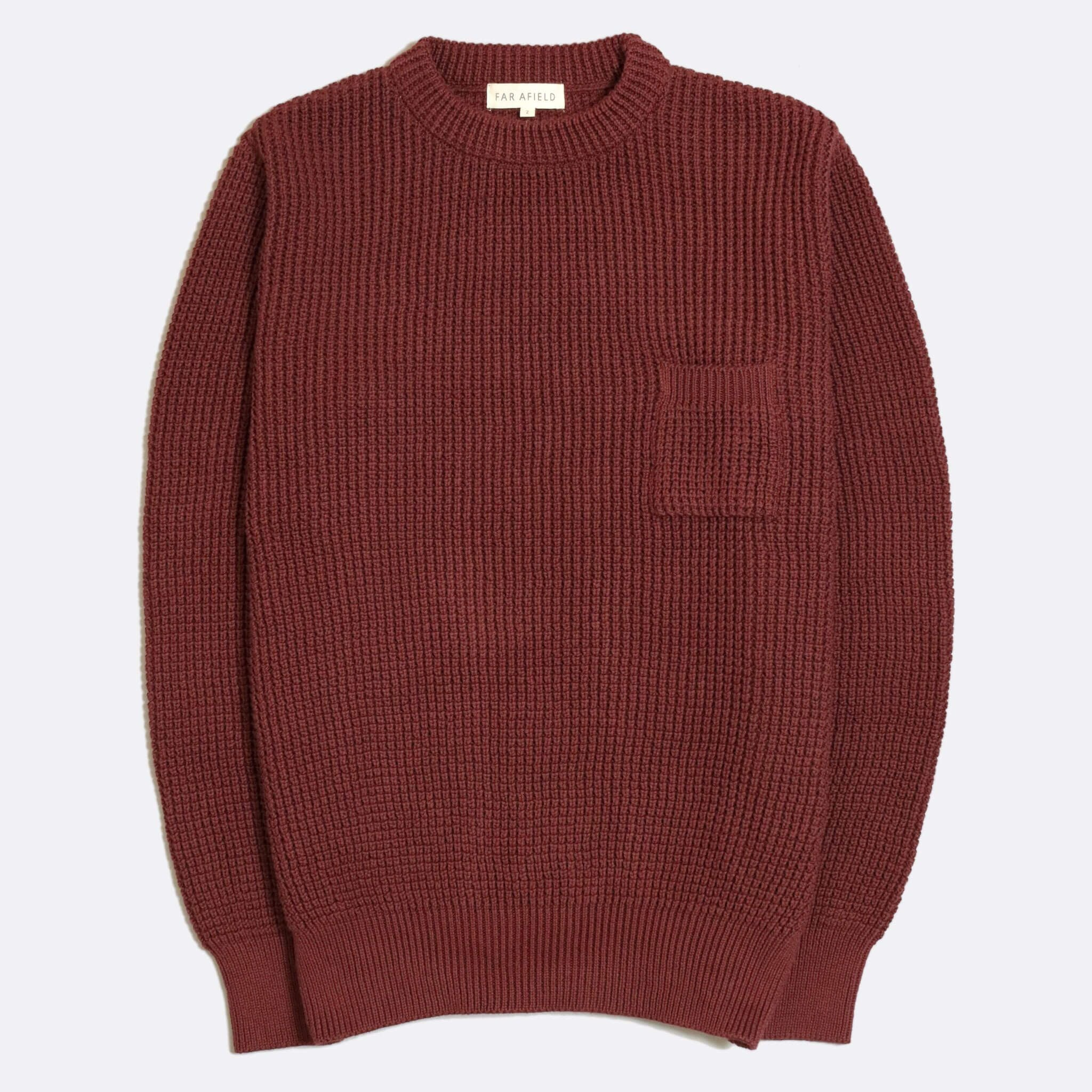 JOE POCKET CREWNECK