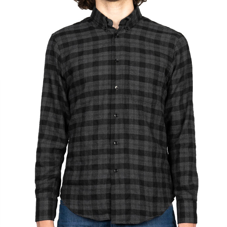 EASY SHIRT HERRINGBONE