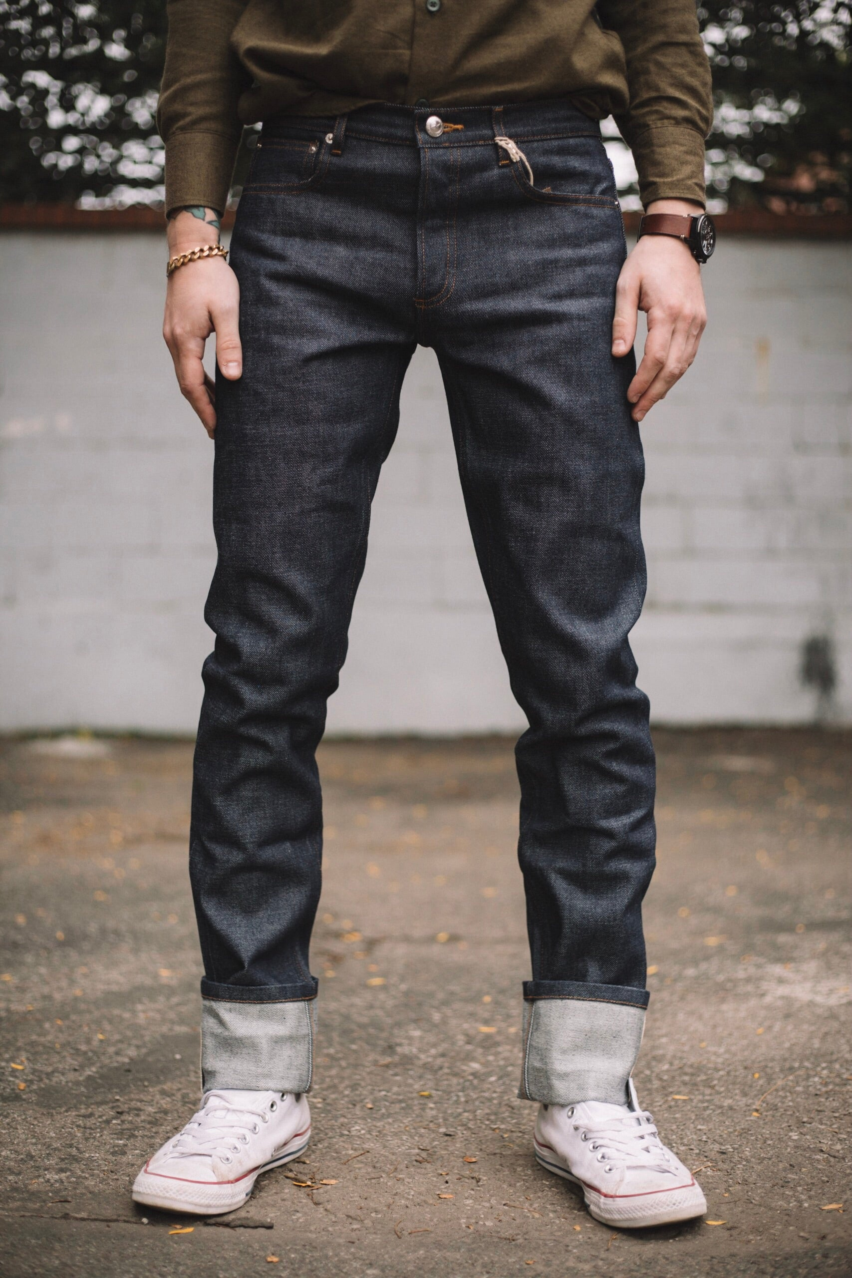 new release special section special sales NEW STANDARD RAW DENIM