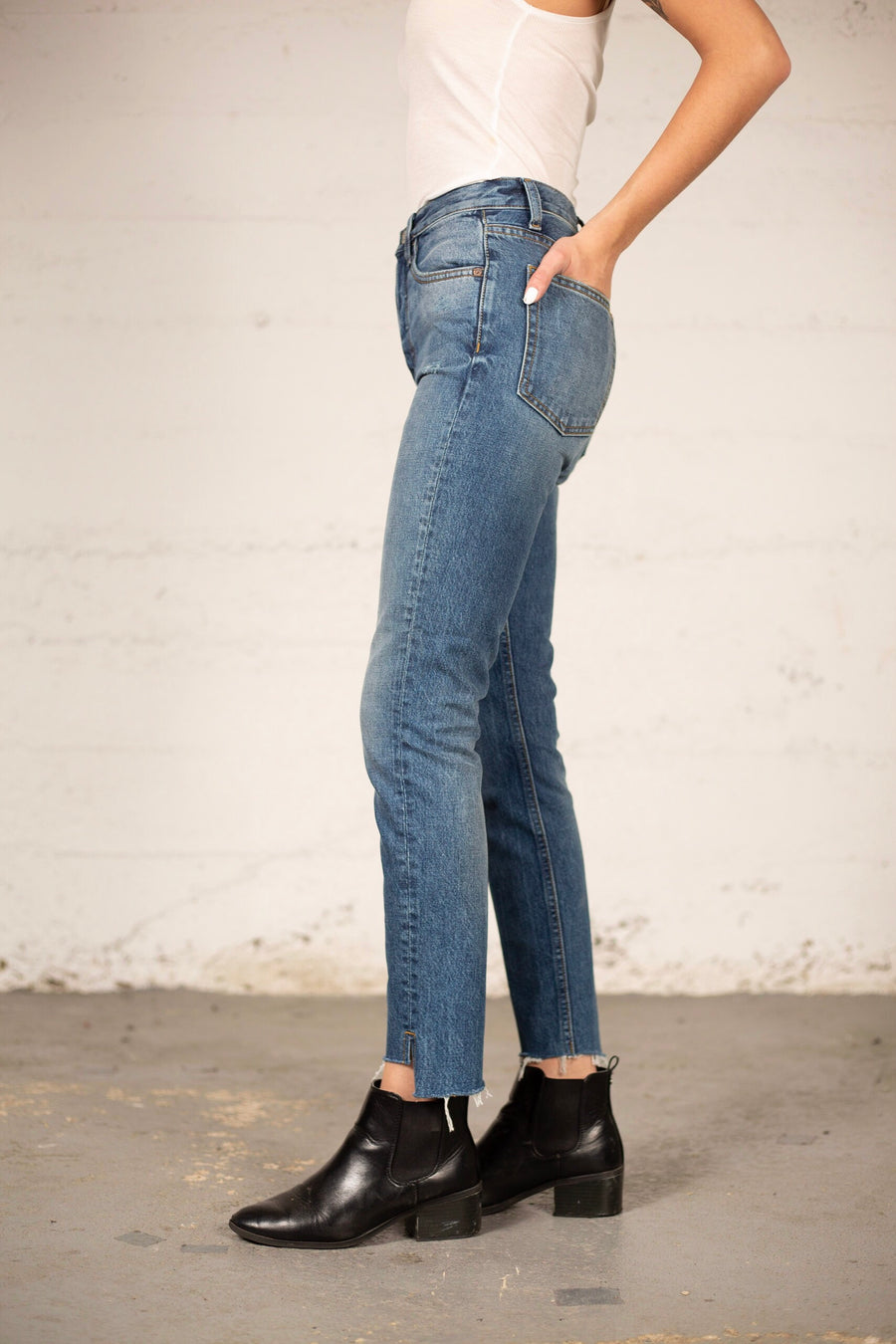 BILLY HIGH RISE SKINNY