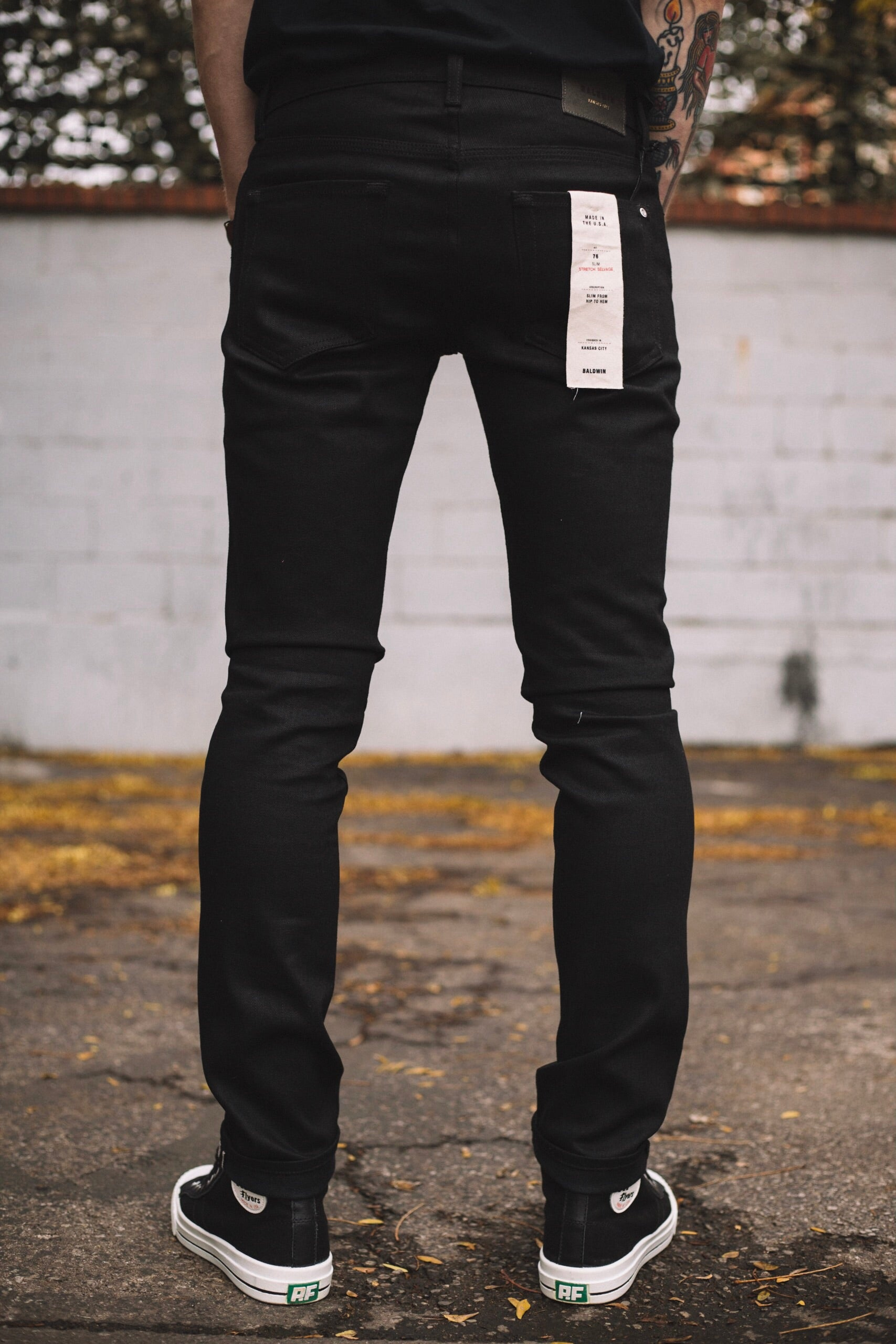 76 BLACK RAW STRETCH