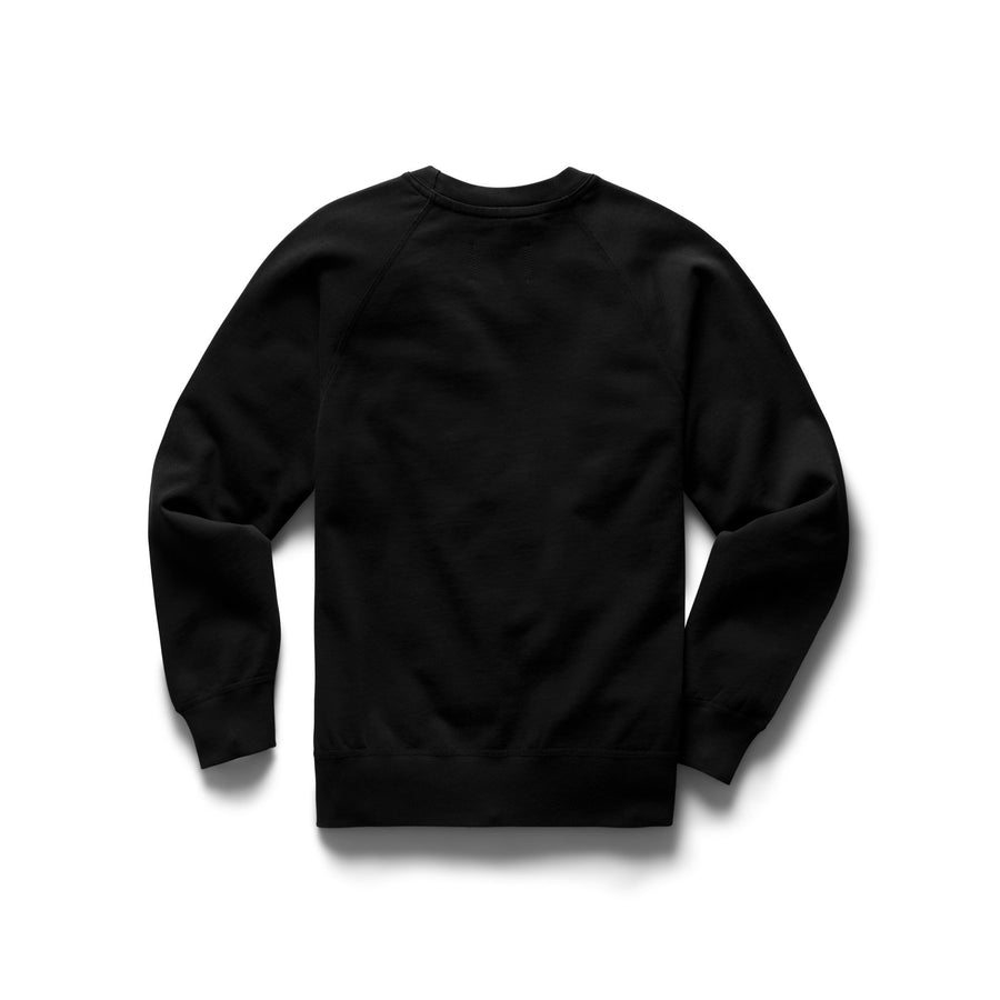 KNIT PIMA TERRY LS CREW