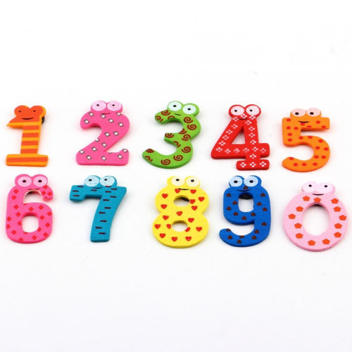 10pcs Learning Magnets