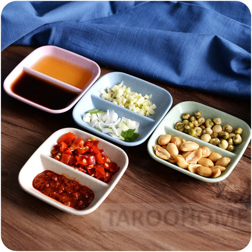 Two Section Condiment Tray