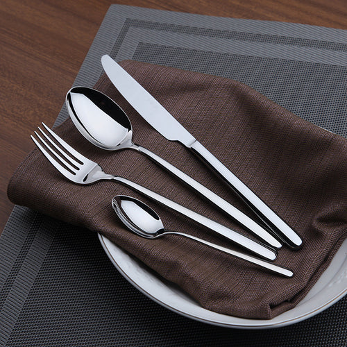 24pc Stainless Steel Cutlery Set