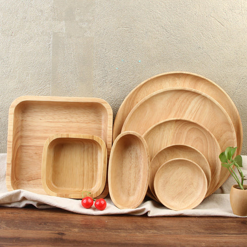 Wooden Dinner Trays / Platters