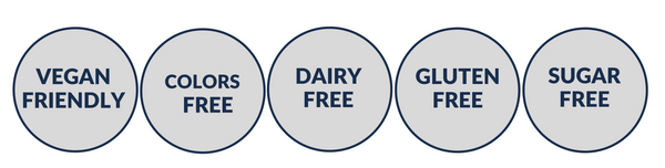 DAIRY FREE STAMPS blueberry