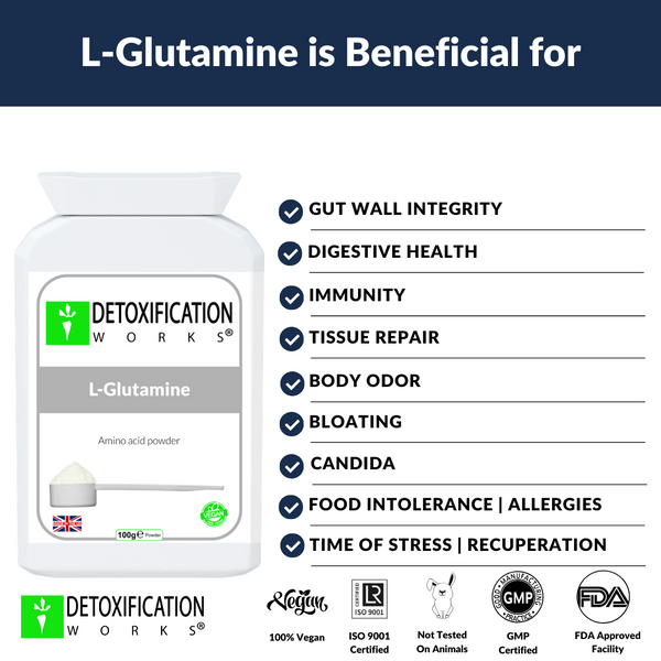 L-Glutamine benefits