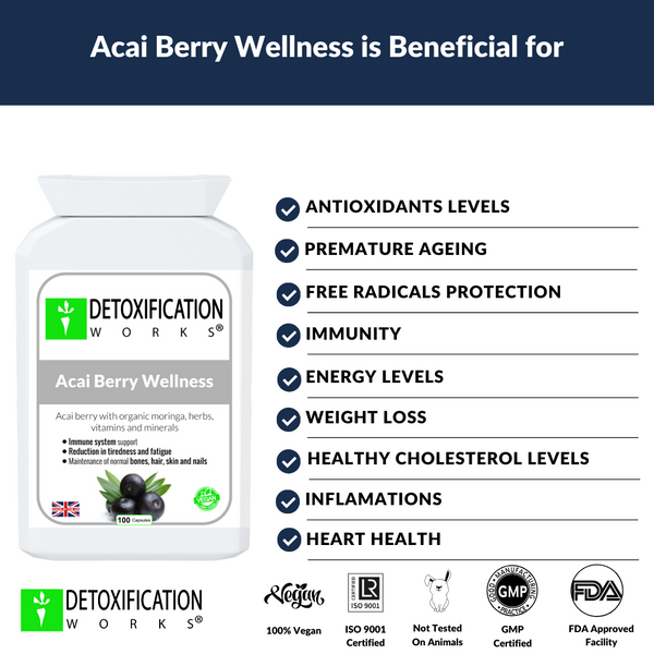 acai berry wellness benefits