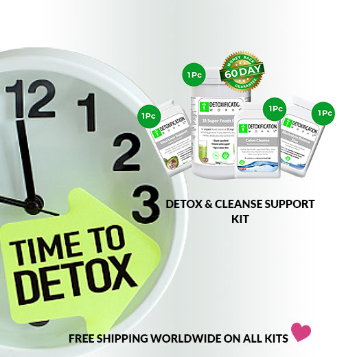 detox and cleanse support kit