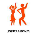 joints and bones orange