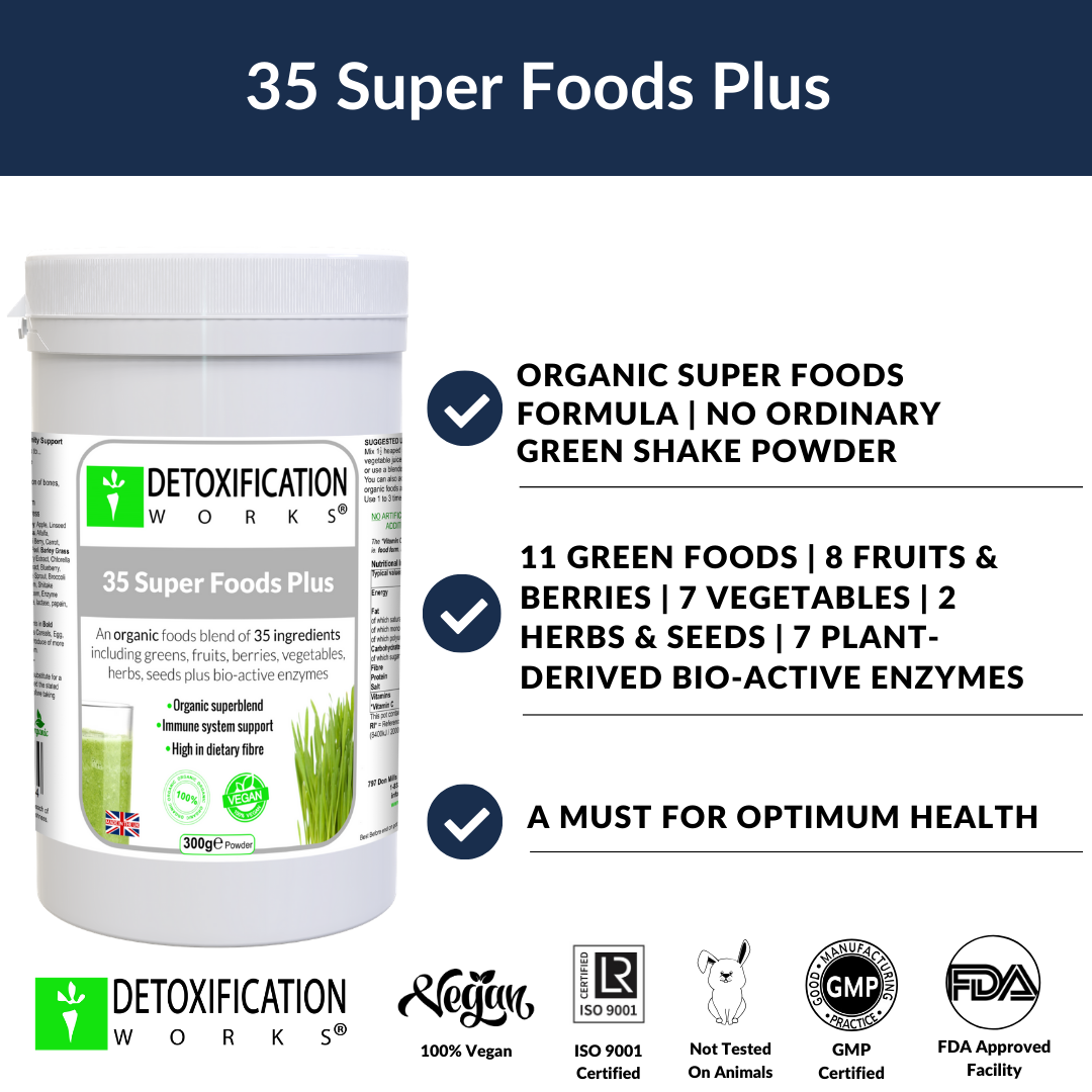 35 SUPERFOODS PLUS  poster