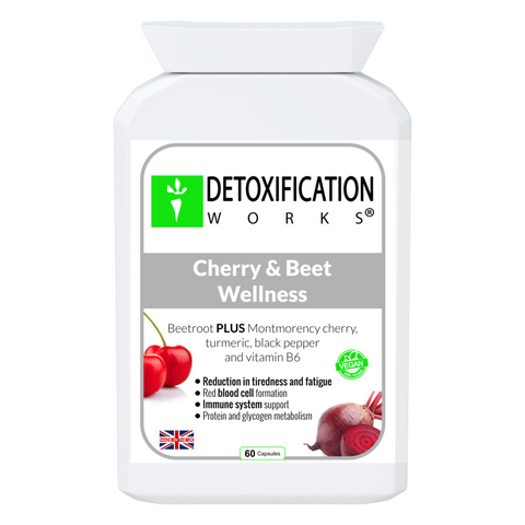 Cherry & Beet Wellness  front