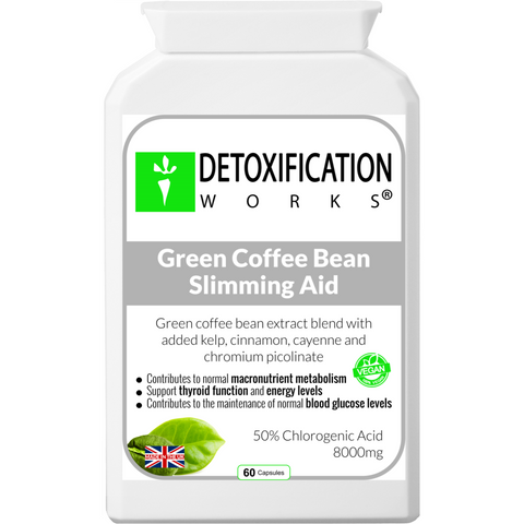 Green Coffee Bean Slimming Aid - Detoxification Works ®