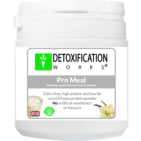 Pro Meal (natural Vanilla flavor) - Detoxification Works ®