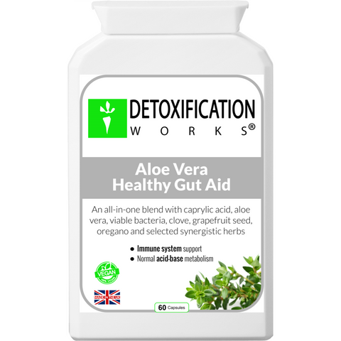 Aloe Vera Healthy Gut Aid - Detoxification Works ®