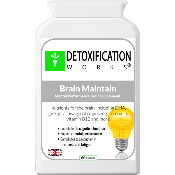 Brain Maintain With Vitamin B-12 - Detoxification Works ®