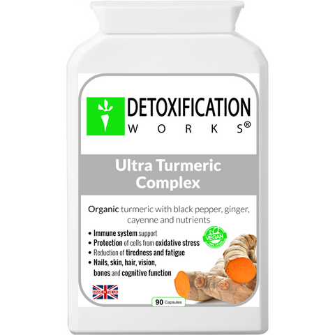 Ultra Turmeric Complex - Detoxification Works ®