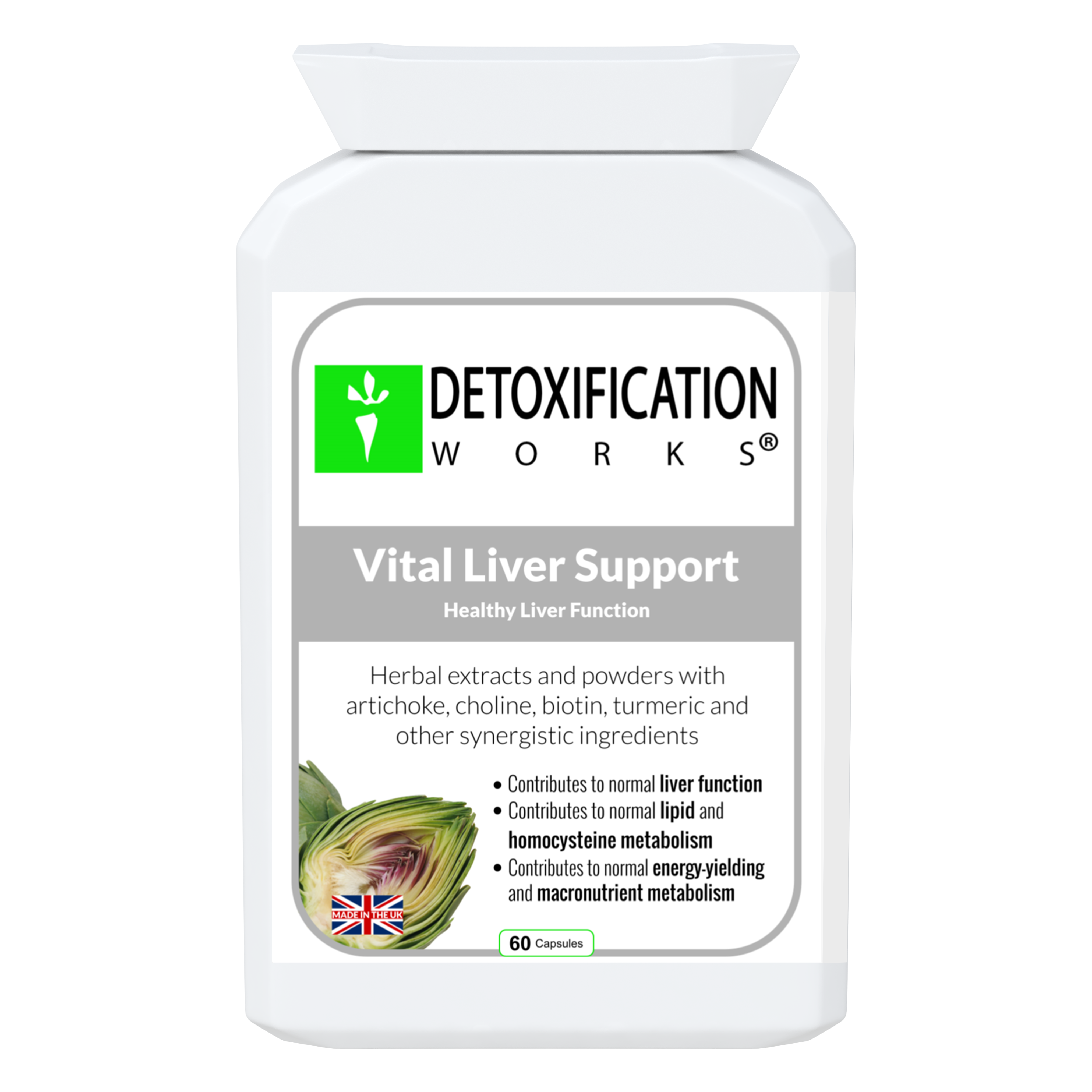 Vital Liver Support (60 Capsules)