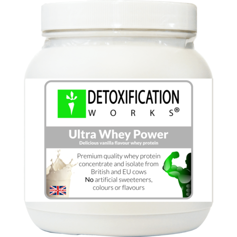 Ultra Whey Power (natural Vanilla flavor) - Detoxification Works ®
