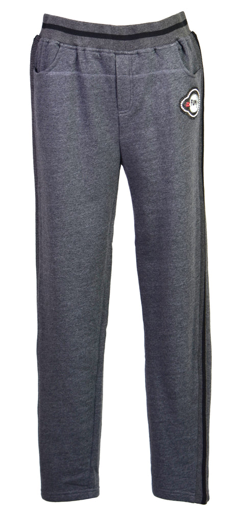 Cotton-jersey track pants