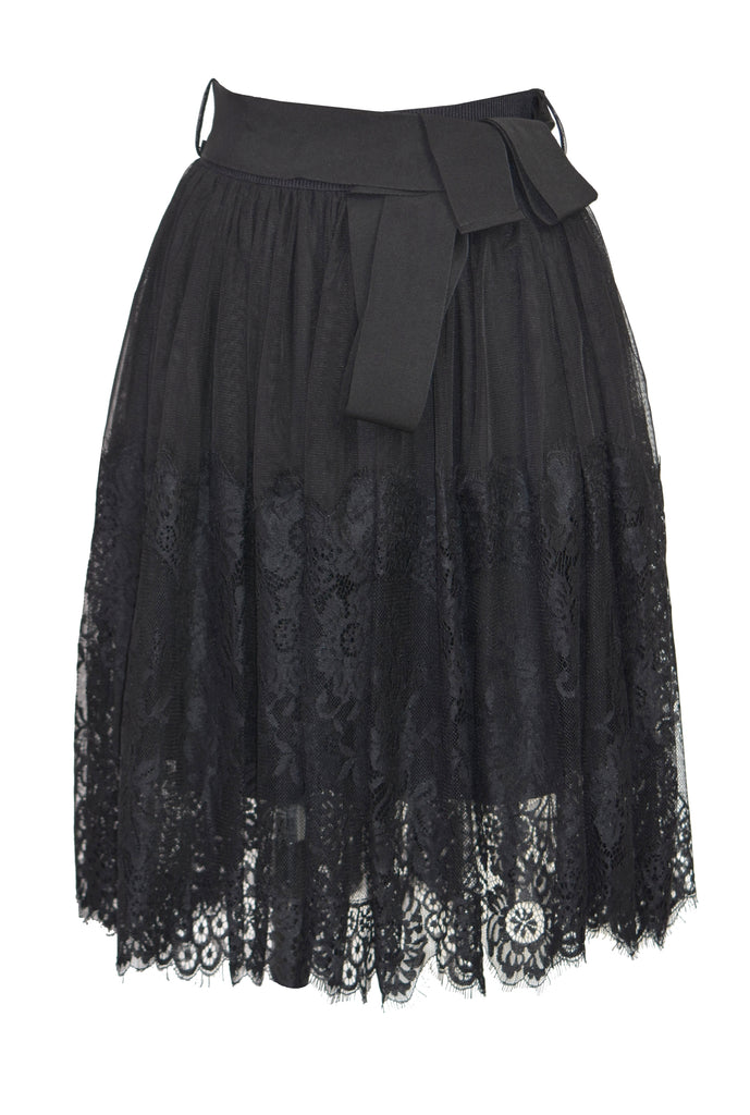 Tassel fluffy bow skirt