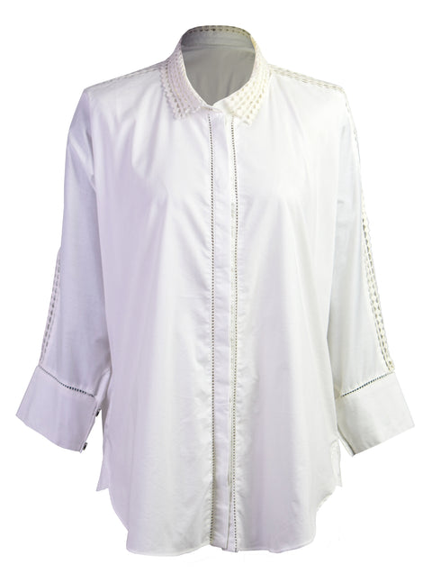 Cotton-poplin shirt
