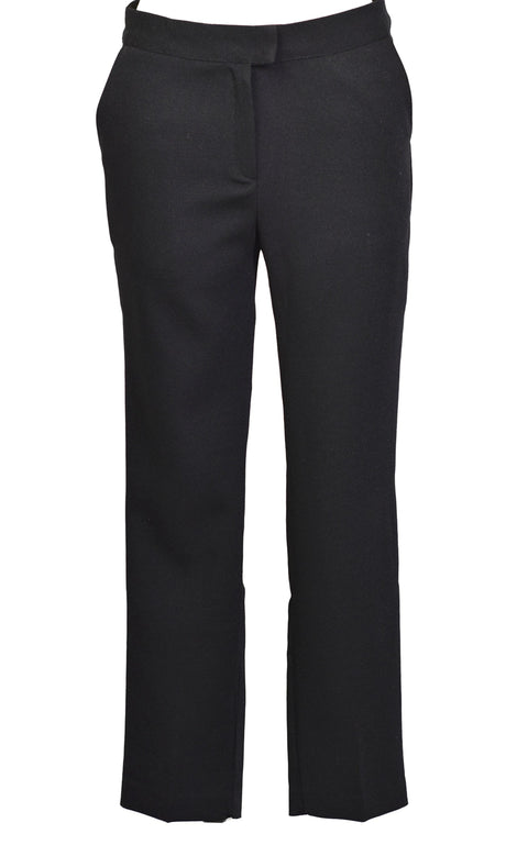 Cropped Stretch Straight-let Pants