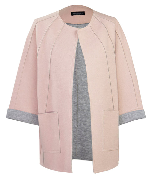 Loose Suit Pink Jacket