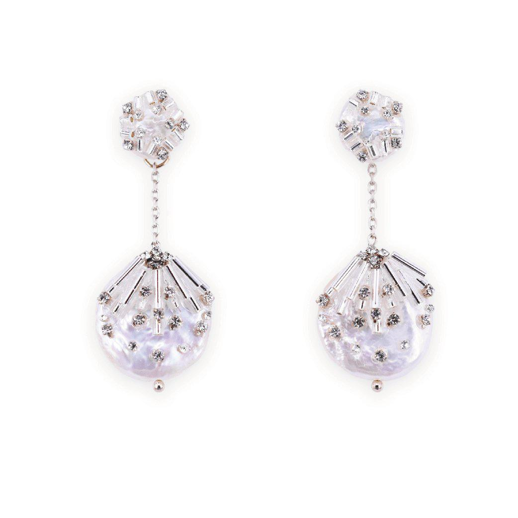 Ice queen exquisite gem studs