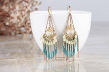 Candy color panache tassel drops