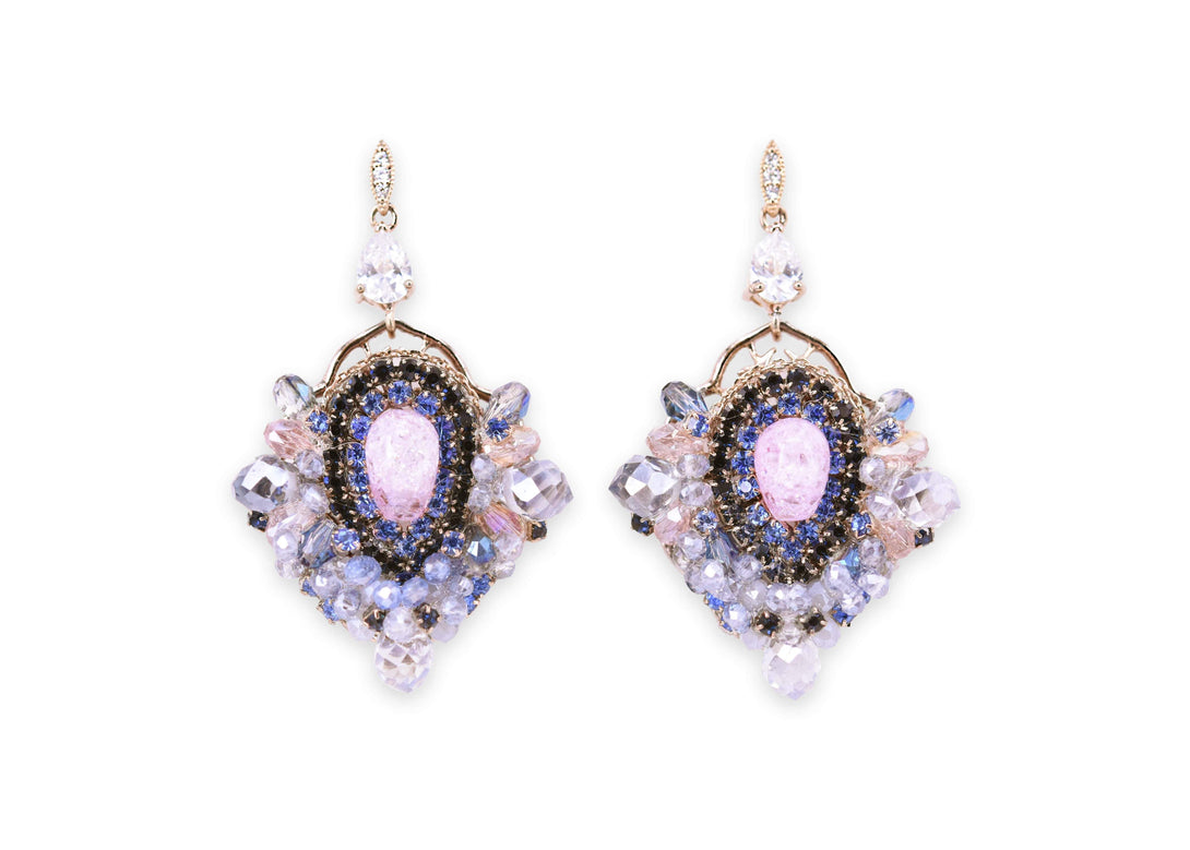 Ocean dream crystal cluster drops