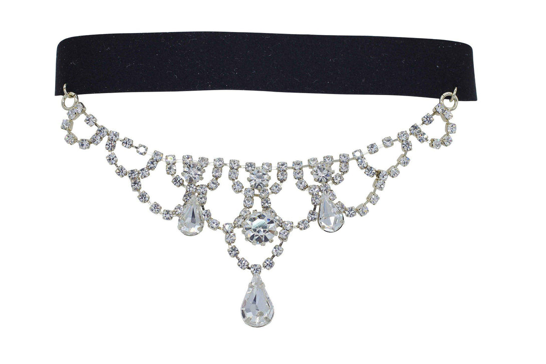 Crystal Princess Necklace with Choker