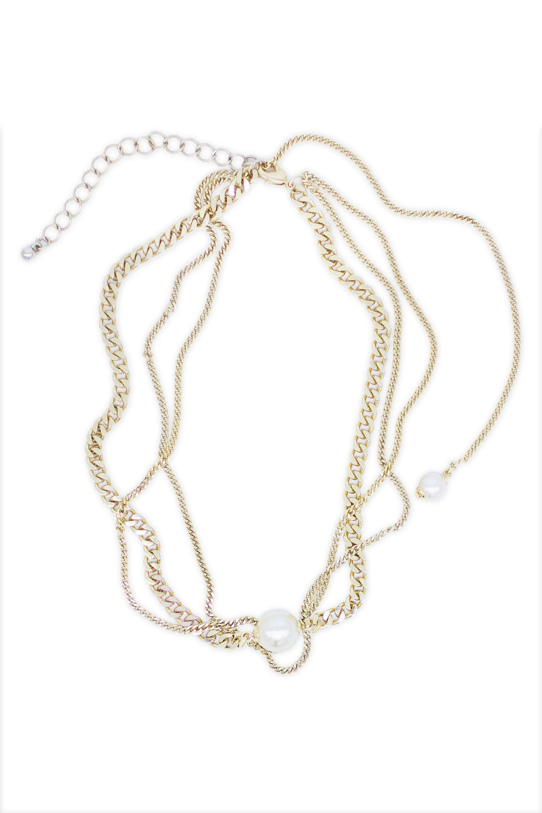 Gorgeous Style Pearl Clasp Necklace