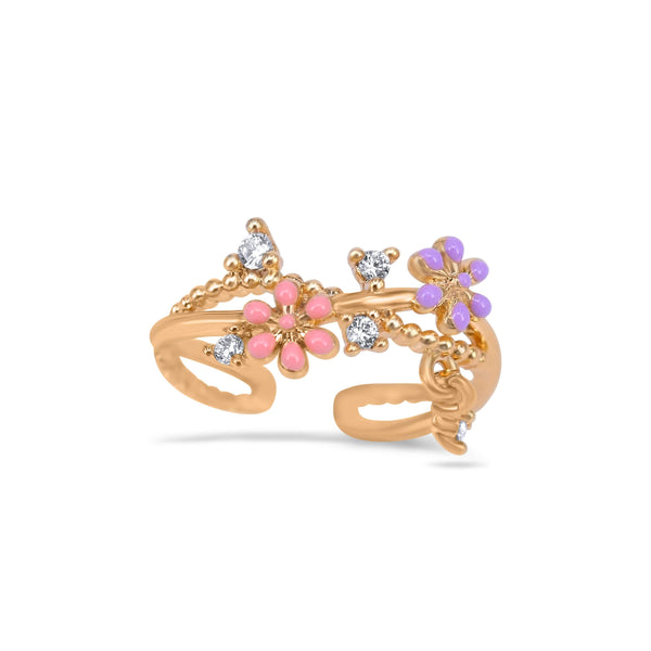 Golden Spring Ring