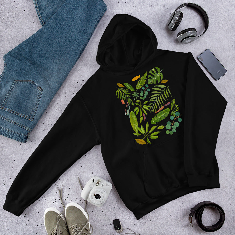 hooded sweatshirt parrot lovers