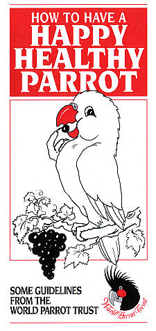 Brochure  - Happy Healthy Parrot - 100pk - World Parrot Trust