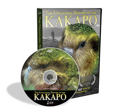 DVD - The Unnatural History of the Kakapo - World Parrot Trust