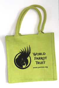 Jute Tote Bags. New design - World Parrot Trust
