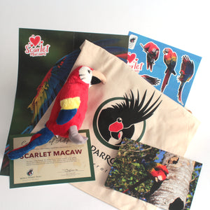 Scarlet Macaw - World Parrot Trust