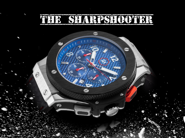 New Gear For Your Wrist: The Sharpshooter Watch