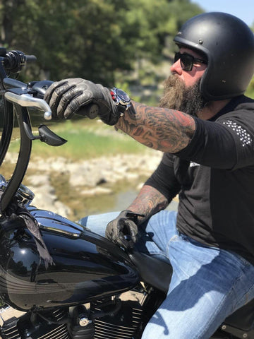 Biker with Zx1-1116 Gear'd Hardware