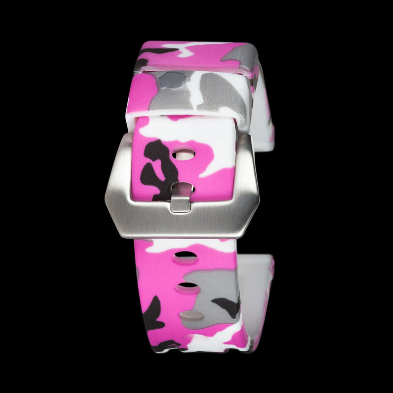 Pink Camo Silicone