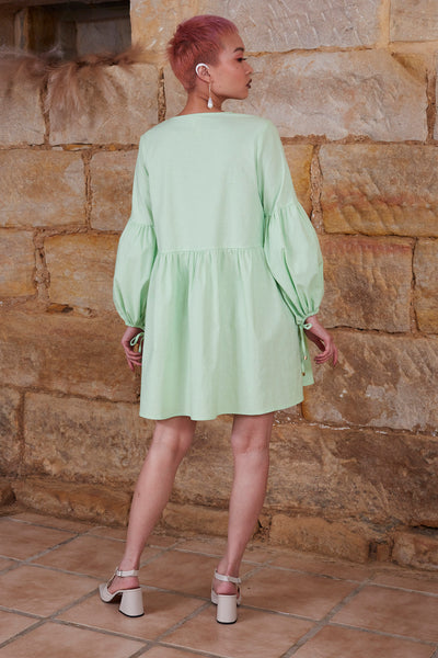 Marigold Dress - Mint