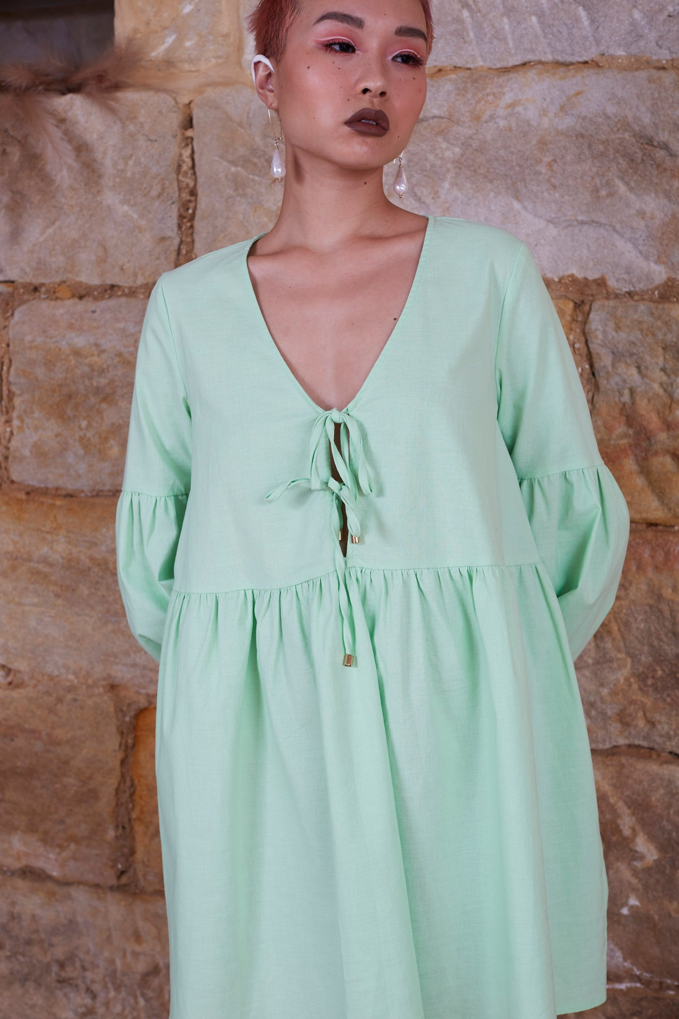 Marigold Dress {mint}