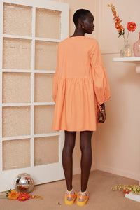 Marigold Dress {orange}