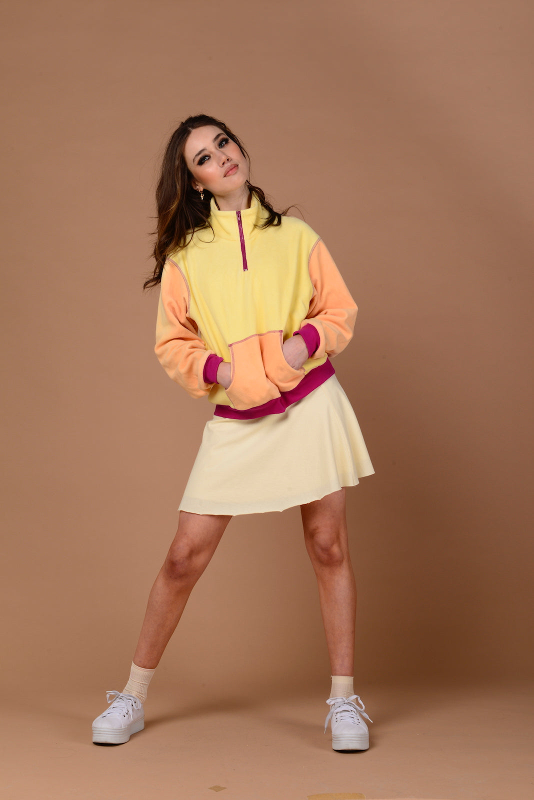 Orphic Jumper {yellow/peach}