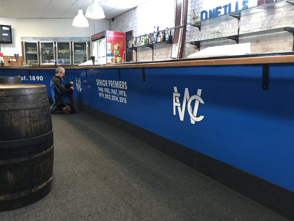 Bar Signs for Wynyard Football Club